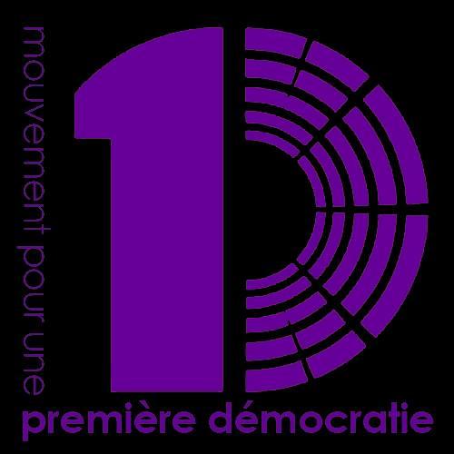 logo M1D violet