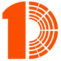 logo M1D orange fond blanc